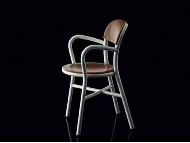 PIPE | Sedia con braccioli