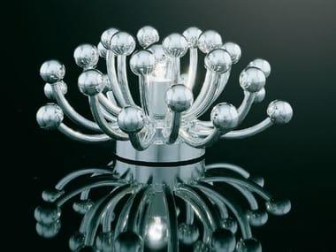 Lampada da tavolo in metallo PISTILLINO | Lampada da tavolo