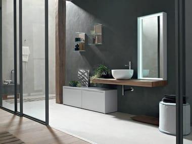 Encimera de lavabo / mueble de baño POLLOCK YAPO - COMPOSITION 55