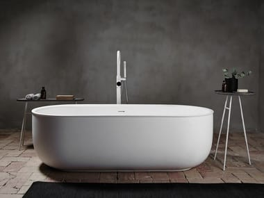 Bañera independiente óvala de Solid Surface® PRIME | Bañera independiente