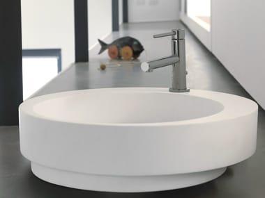 Miscelatore per lavabo da piano monocomando monoforo MINI-X | Miscelatore per lavabo