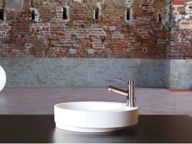 Miscelatore per lavabo da piano monocomando monoforo X-TREND | Miscelatore per lavabo