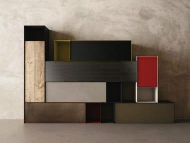 Modular storage wall ZERO20 | Storage wall