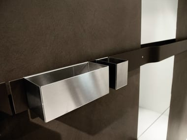 Stainless steel toothbrush holder STRIP | Toothbrush holder