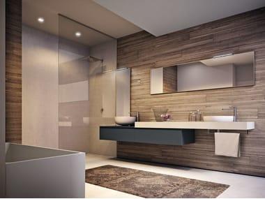Salle de bains complète en stratifié CUBIK N°15