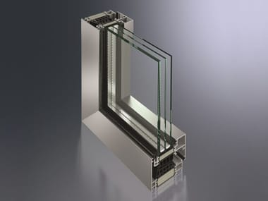 Aluminium thermal break window SimplySmart