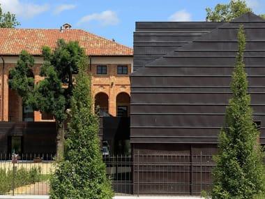 Continuous metal laminate for facade TECU® Oxid