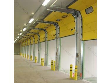 Porte industrielle motorisée Porte sectionnelle industrielle
