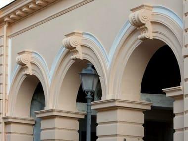 Cadre de porte voûtée en béton armé Arcs