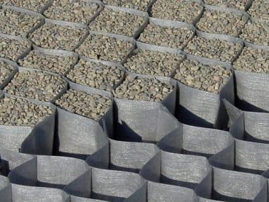 Упрочнение грунта и фундамента DuPont™ Plantex® GroundGrid®