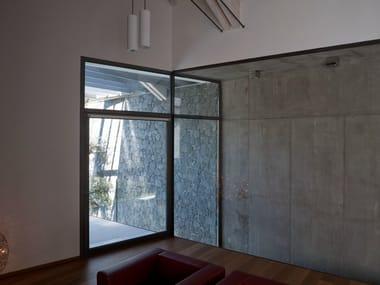 Porta-finestra a taglio termico in acciaio ISO 70 TAGLIO TERMICO | Porta-finestra