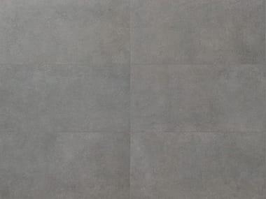 Revestimiento de pared/suelo de gres porcelánico efecto concreto para interiores y exteriores MATERIA D Cenere