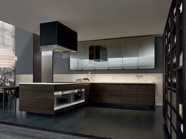 Oak fitted kitchen MINIMAL