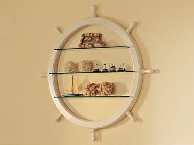 Librería de pared de cristal 954 | SHIP'S WHEEL