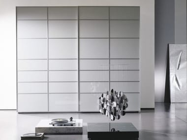 Crystal wardrobe with sliding doors FRAMMENTI
