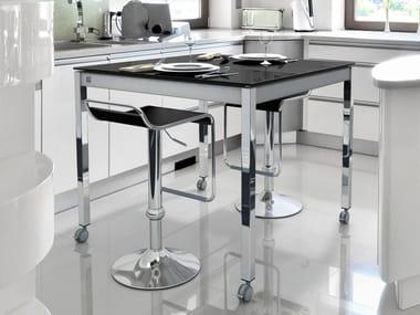tavoli alti da cucina in metallo   archiproducts - Tavoli Alti Cucina