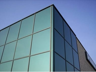 Façade structurelle vitrée Façades vitrées
