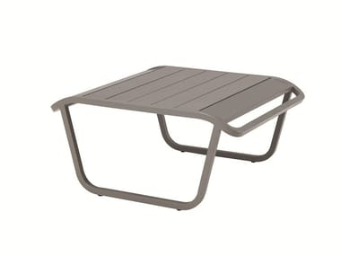 Low aluminium garden side table OCEAN | Garden side table