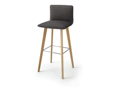 Counter stool with footrest JALIS   Counter stool