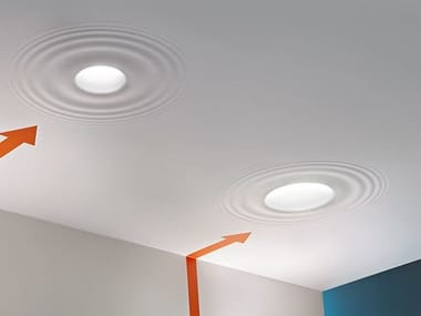 Direct light halogen recessed ceiling lamp TEARDROP MEDIUM