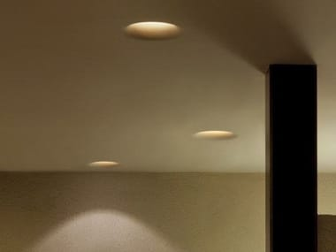 Indirect light recessed ceiling lamp USO 330 FOR MODULAR CEILING