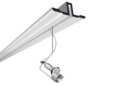 Recessed Track-Light LIGHTLIGHT® IN SYSTEM PROFILE FLUSHED