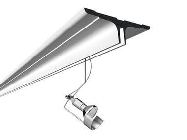 Recessed Track-Light LIGHTLIGHT® IN SYSTEM PROFILE SURFACE
