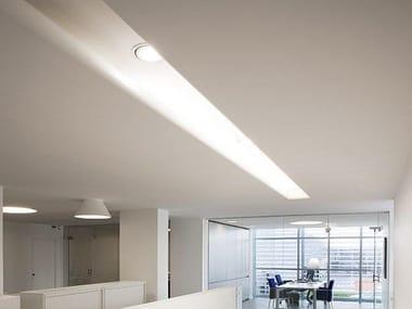 Perfil para iluminación lineal para fijación al techo USP 12 33 21 | Perfil para iluminación lineal para focos
