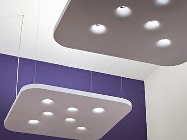 Direct-indirect light pendant lamp BENGUERRA