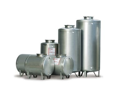 Vertical and horizontal drinking water tanks STAINLESS STEEL 316L TANKS