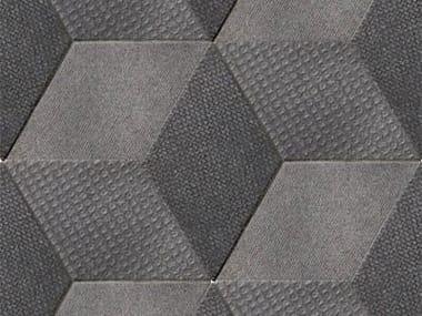 Revêtement de sol/mur en grès cérame pour intérieur TEX BLACK