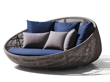 Sofá de polietileno para jardín CANASTA '13 | Sofá