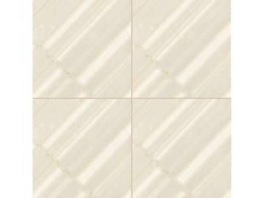 Revêtement de sol/mur en grès cérame émaillé AZULEJ BIANCO DIAGONAL