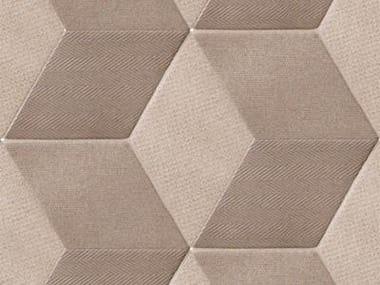 Revêtement de sol/mur en grès cérame pour intérieur TEX BROWN