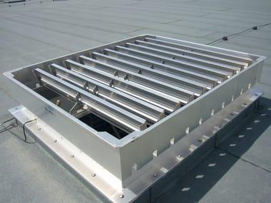 Sistemi di ventilazione industriale VENTILAZIONE NATURALE a lamelle