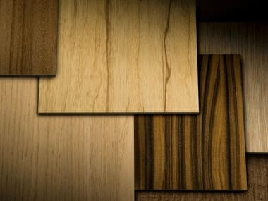 HPL wall panel with wood effect TRESPA® METEON® | Wood Decors