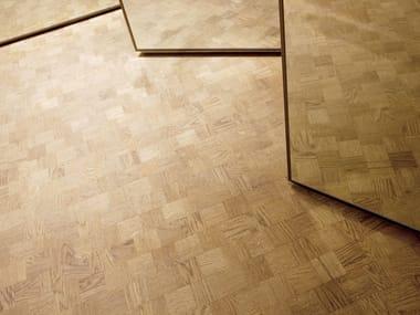 Multi-layer wood parquet TWIST