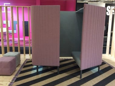 Acoustic fabric office booth BUZZIHIVE