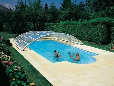 Medium-high telescopic Swimming pool cover DESJOYAUX | Medium-high Swimming pool cover