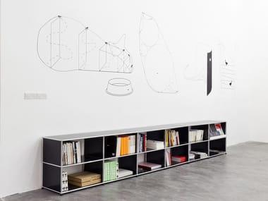 usm haller table for shared workstations b ro schreibtisch by usm. Black Bedroom Furniture Sets. Home Design Ideas