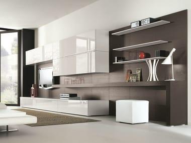 Muebles modulares de pared muebles de almacenaje for Muebles modulares living