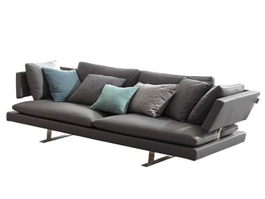 Leather sofa BORDERLINE | Leather sofa