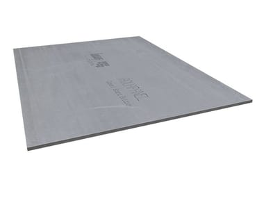Dry-laid cement and fibre cement sheet SISTEMA AQUAPANEL®