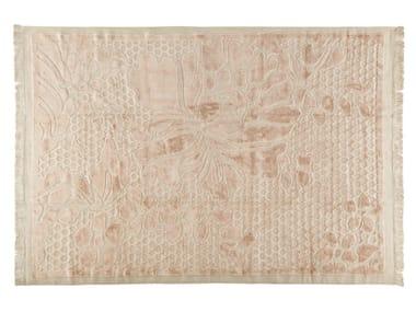 Patterned rectangular rug IRIS