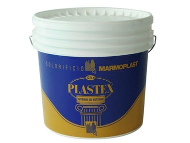 Water repellent water-based paint PLASTEX INT - EST LUCIDO