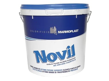 Washable water-based paint NOVIL LAVABILE