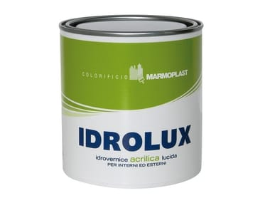 Transparent varnish IDROLUX