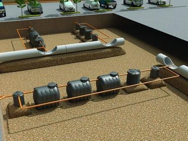 Impianto di depurazione e smaltimento Sistema per impianto di prima pioggia