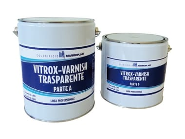 Enamel for food tanks VITROX-VARNISH TRANSPARENT