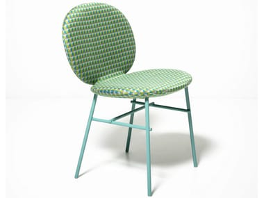 Upholstered fabric chair KELLY C | Upholstered chair